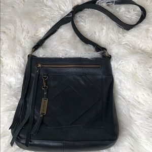 Leather lucky brand bag
